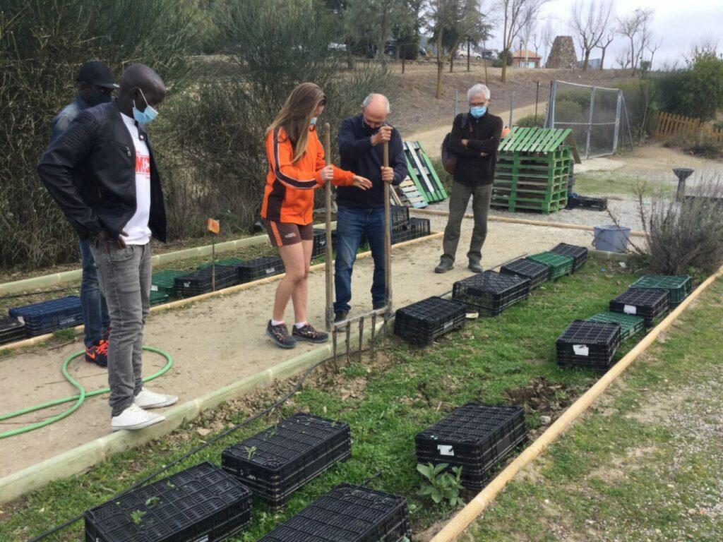 Agroecología en el Colegio Internacional de Granada